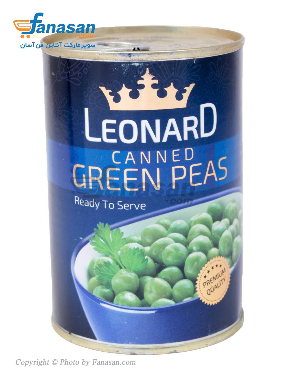 کنسرو نخود سبز لئونارد 420 گرم