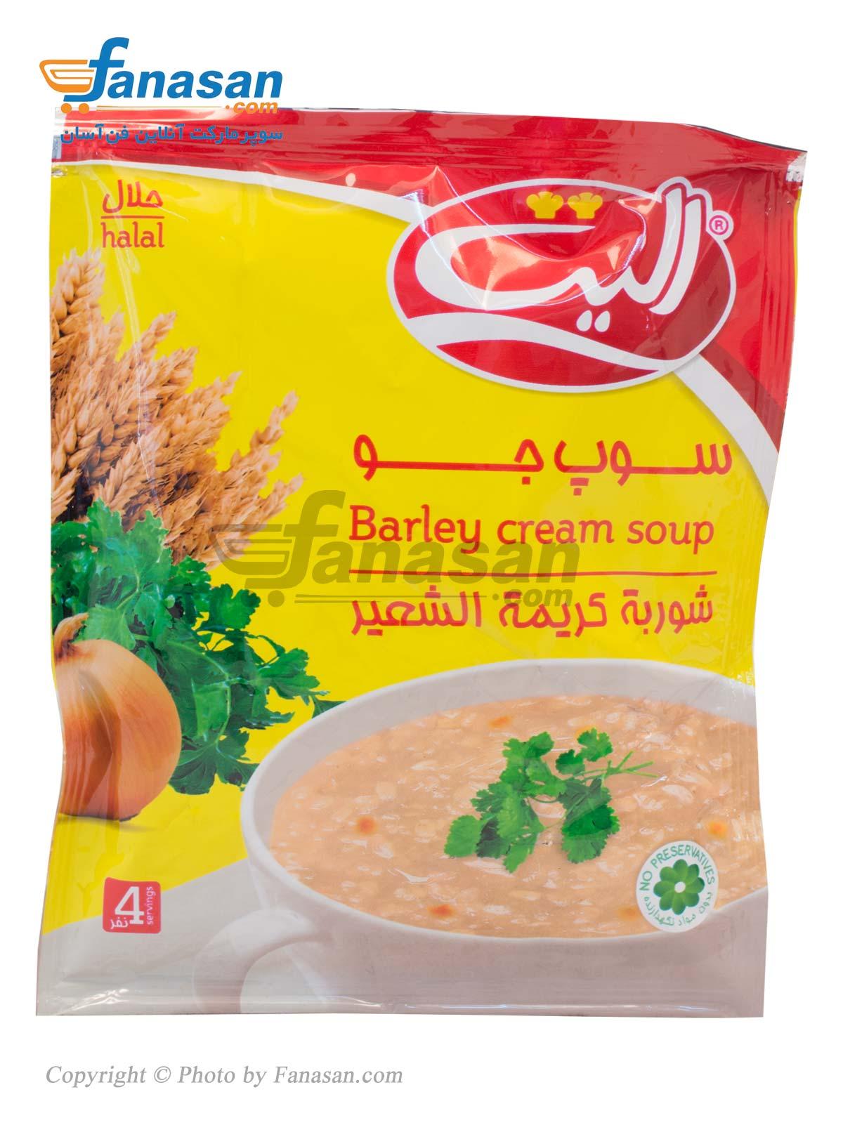 سوپ جو الیت 68 گرم