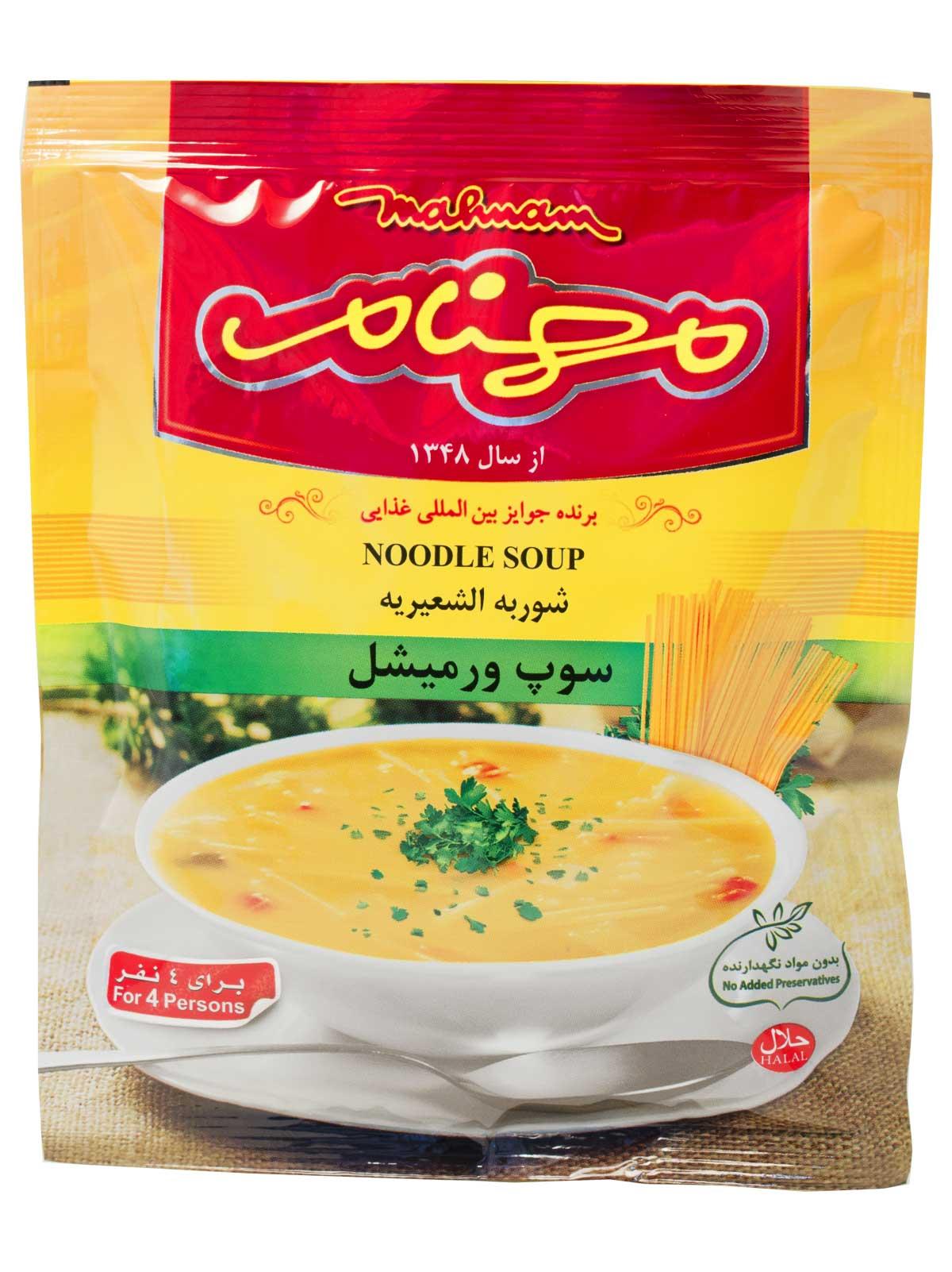 سوپ ورمیشل مهنام 75 گرم