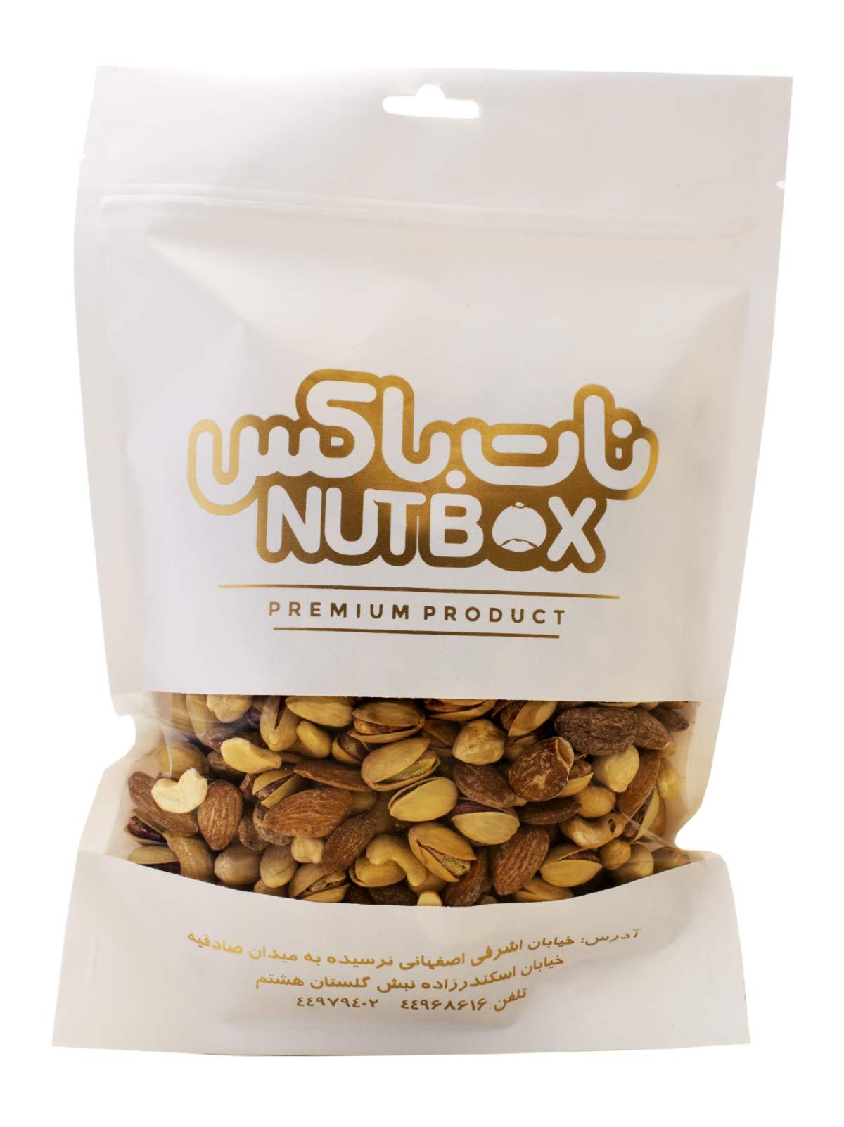آجیل مخلوط نات باکس عربی (نمک دریایی) 250 گرم
