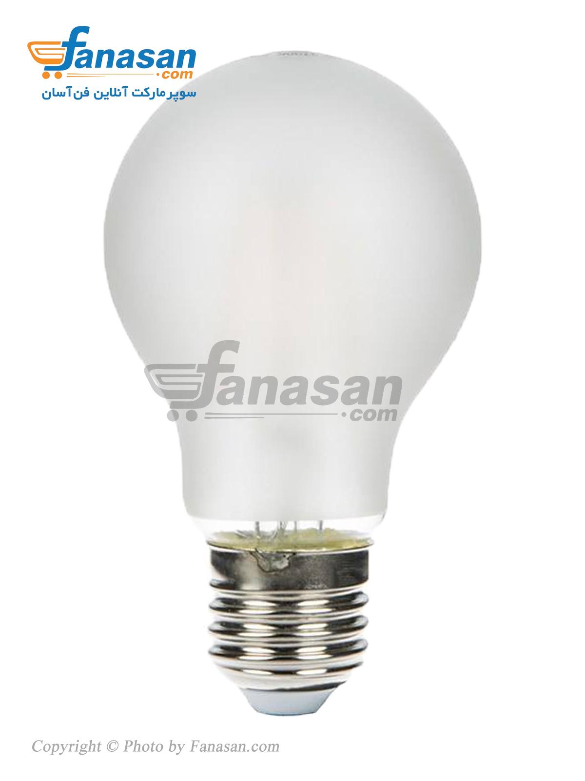 لامپ فیلامنتی آفتابی شعاع سرپیچ پایه E27 مات 7 وات