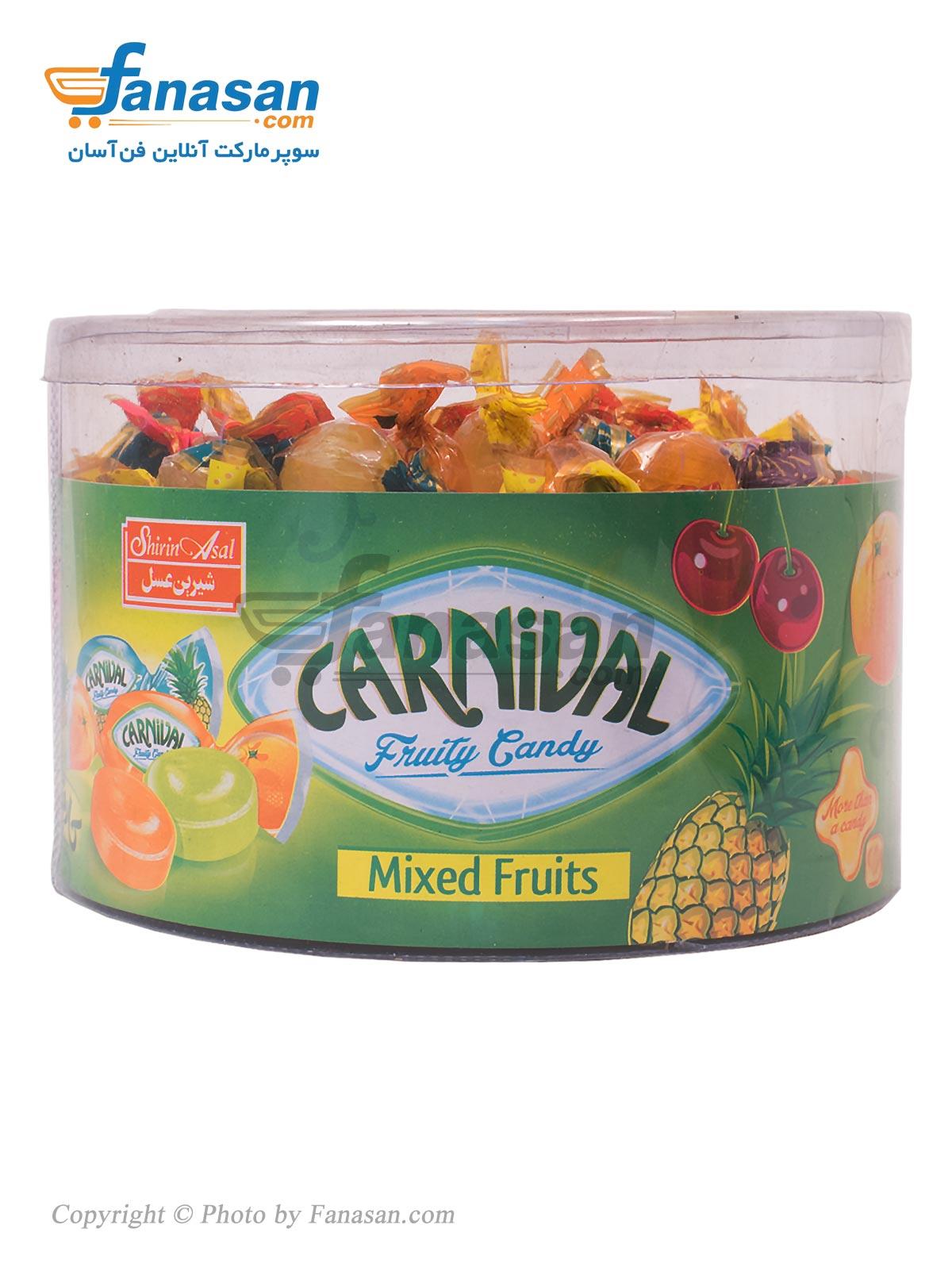 آبنبات میوه ای کارنیوال شیرین عسل 400 گرم