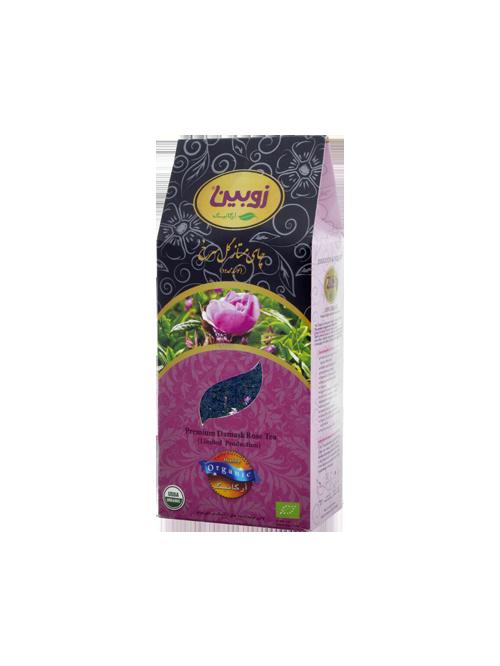 چای ممتاز گل سرخ زوبین ارگانیک 200 گرم