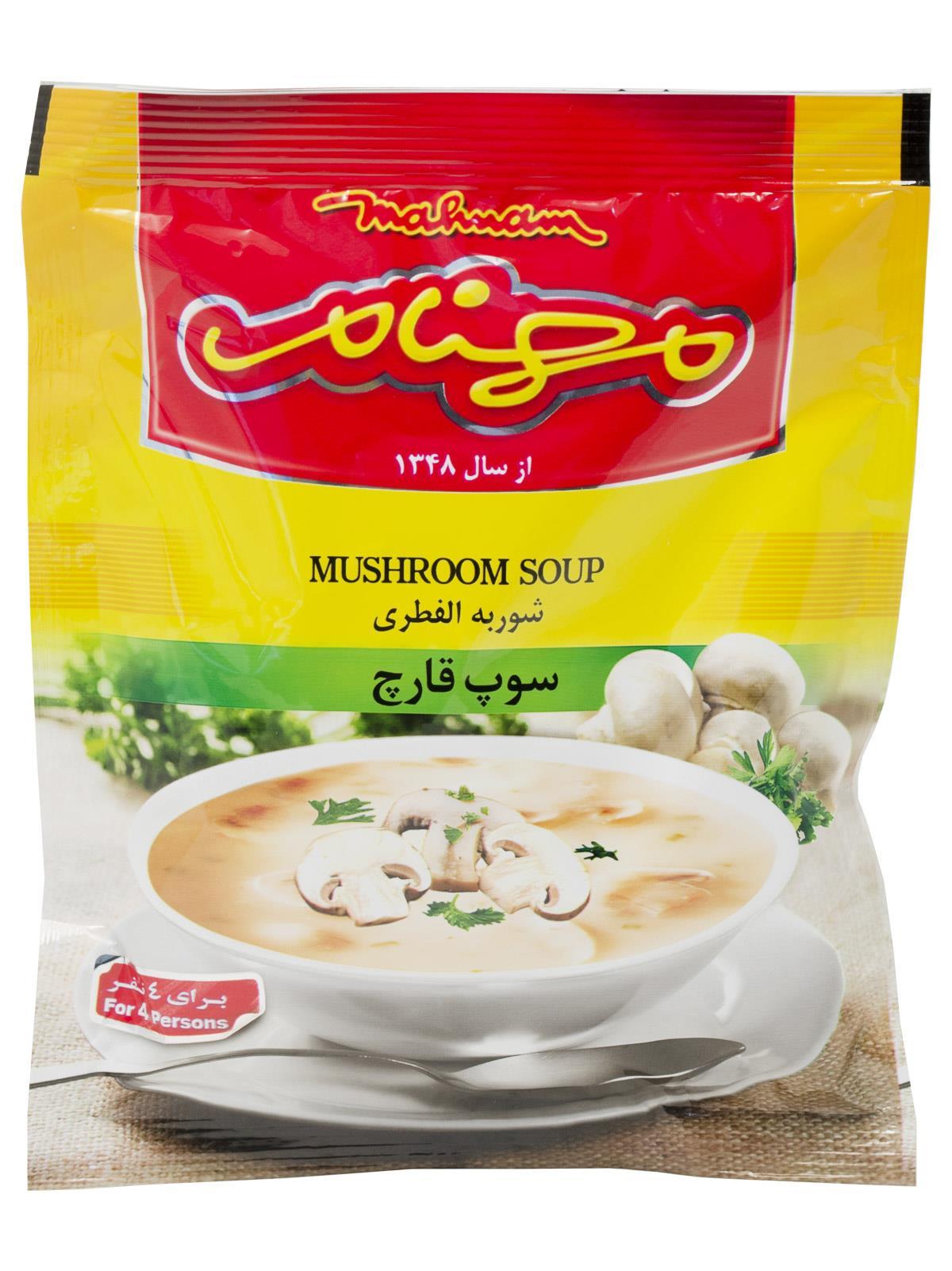 سوپ قارچ مهنام 75 گرم