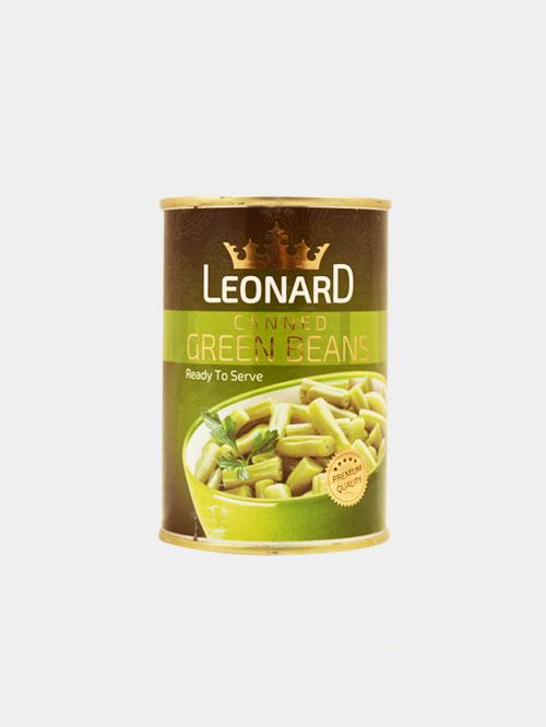 کنسرو لوبیا سبز لئونارد 420 گرم