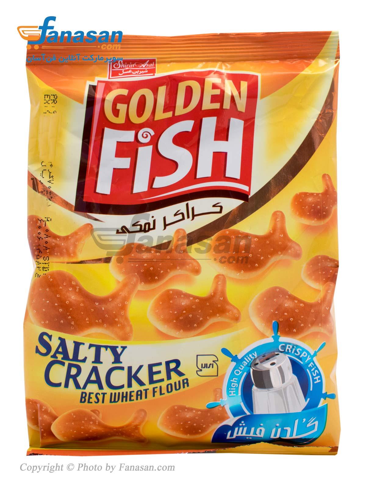 کراکر ماهی نمکی شیرین عسل 70 گرم