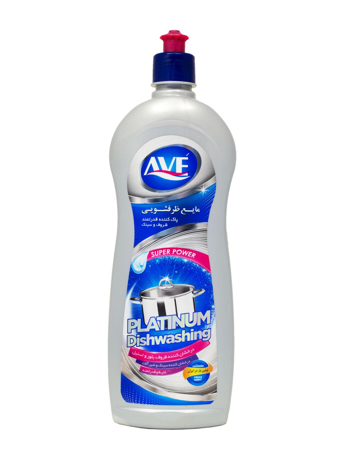 مایع ظرفشویی پلاتینیوم اوه پاک کننده ظروف سینک و شیرآلات 750 گرم