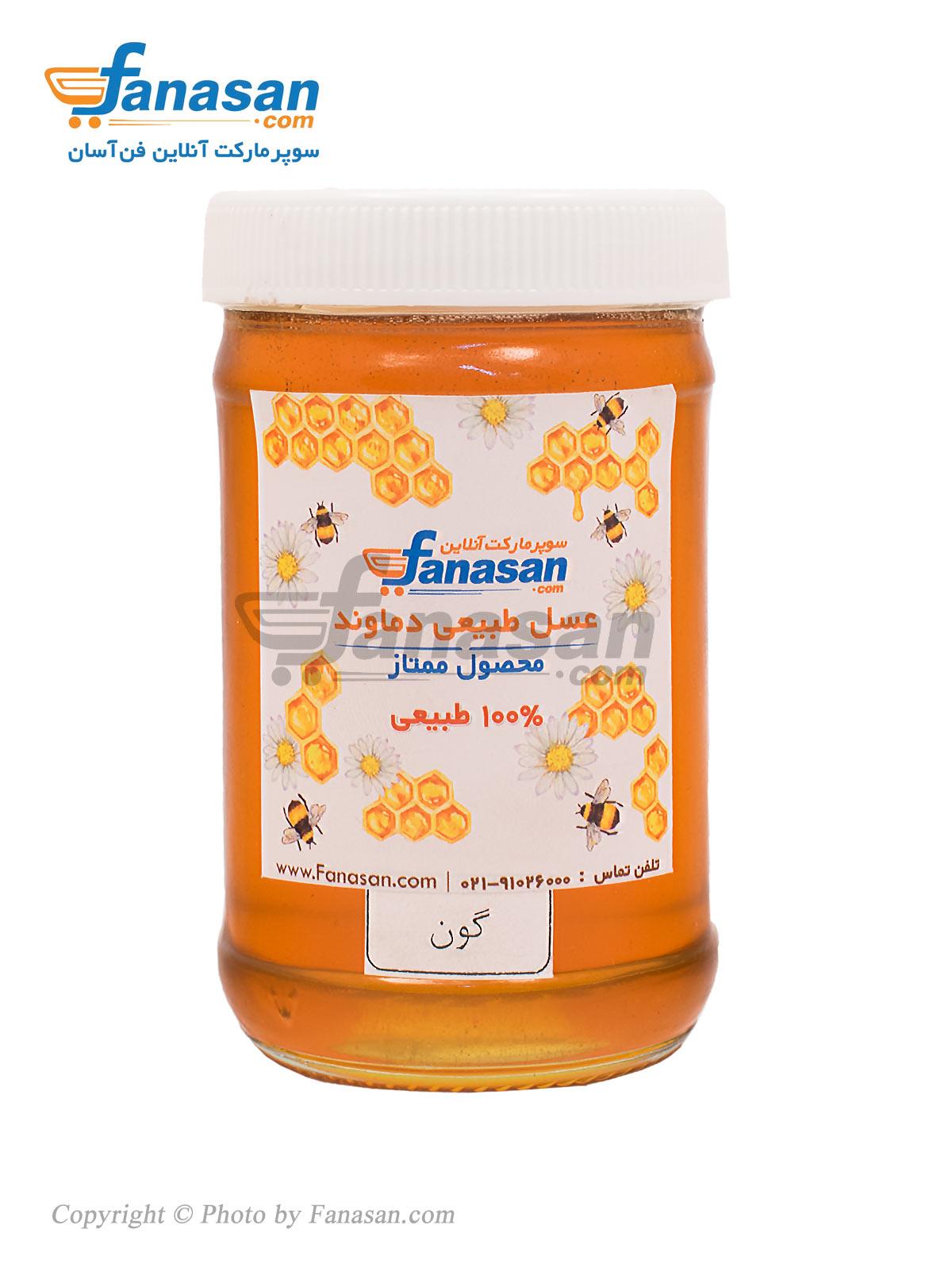 عسل طبیعی ممتاز گون فن آسان 450 گرم