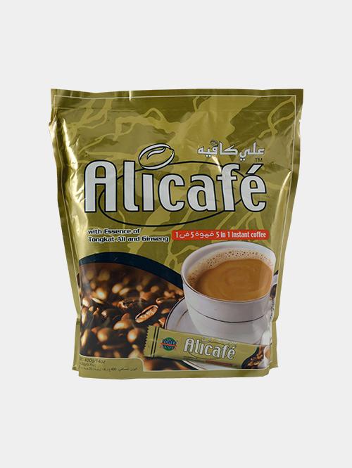 بسته 4 عددی قهوه 5 در 1 علی کافه 20 عددی