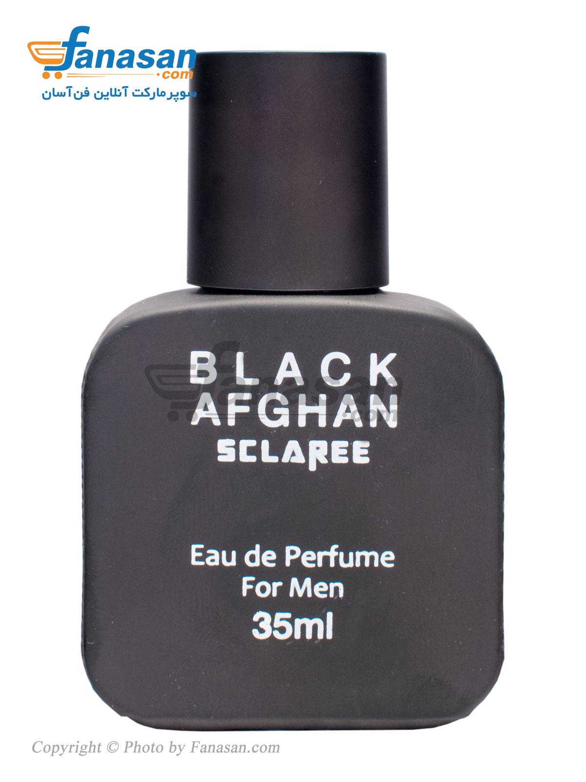 ادو پرفیوم اسکلاره با رایحه Black Afghan مناسب برای آقایان 35 میلی لیتر