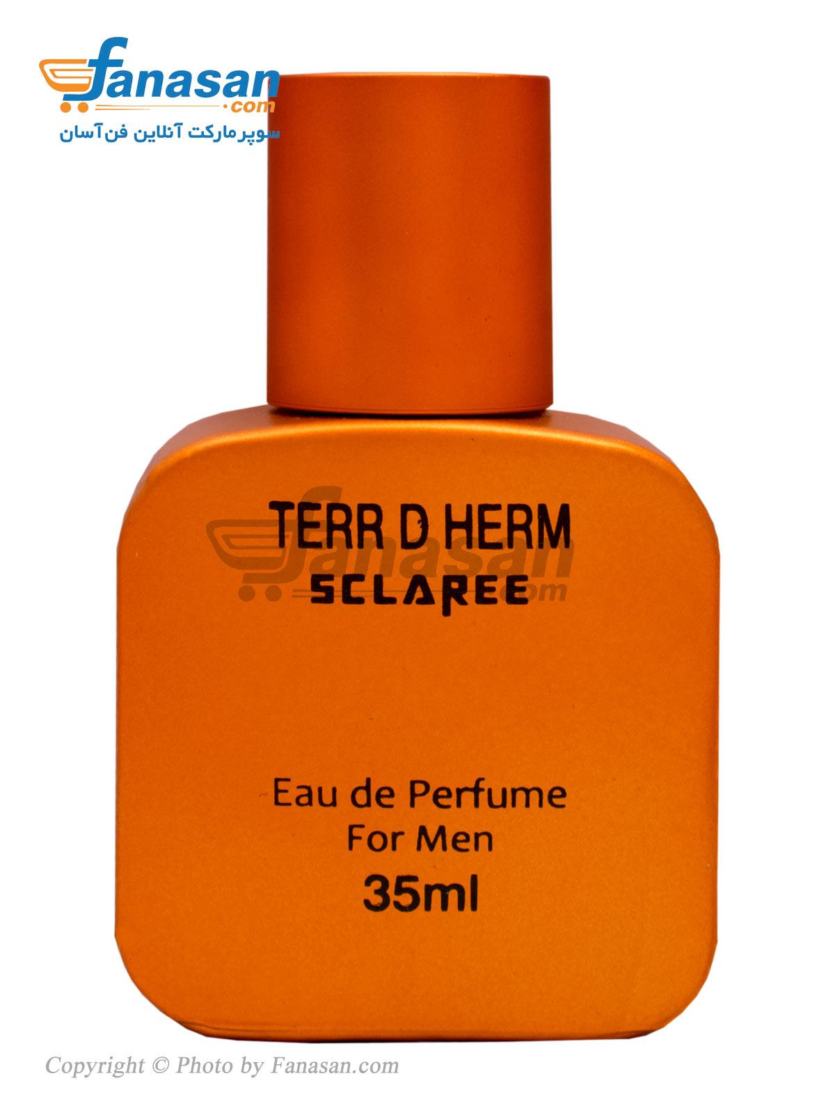 ادو پرفیوم اسکلاره با رایحه Terr D Herm مناسب برای آقایان 35 میلی لیتر