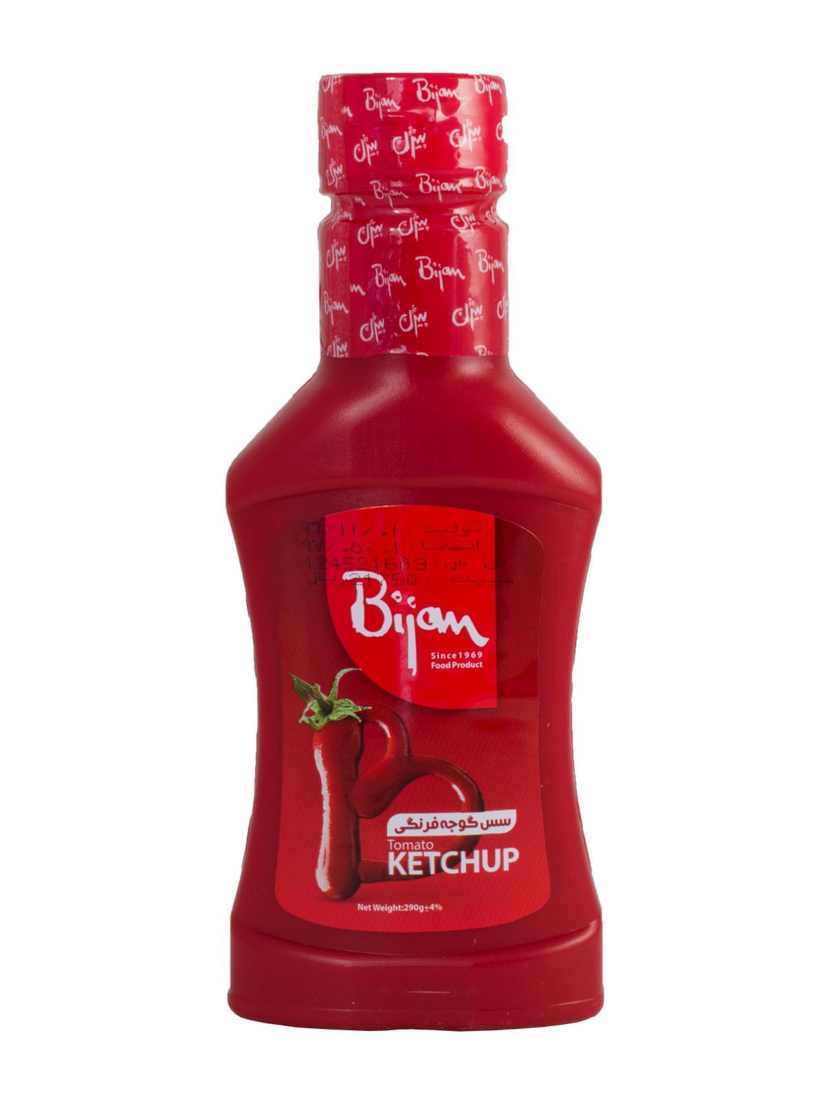 سس گوجه فرنگی بیژن 290 گرم