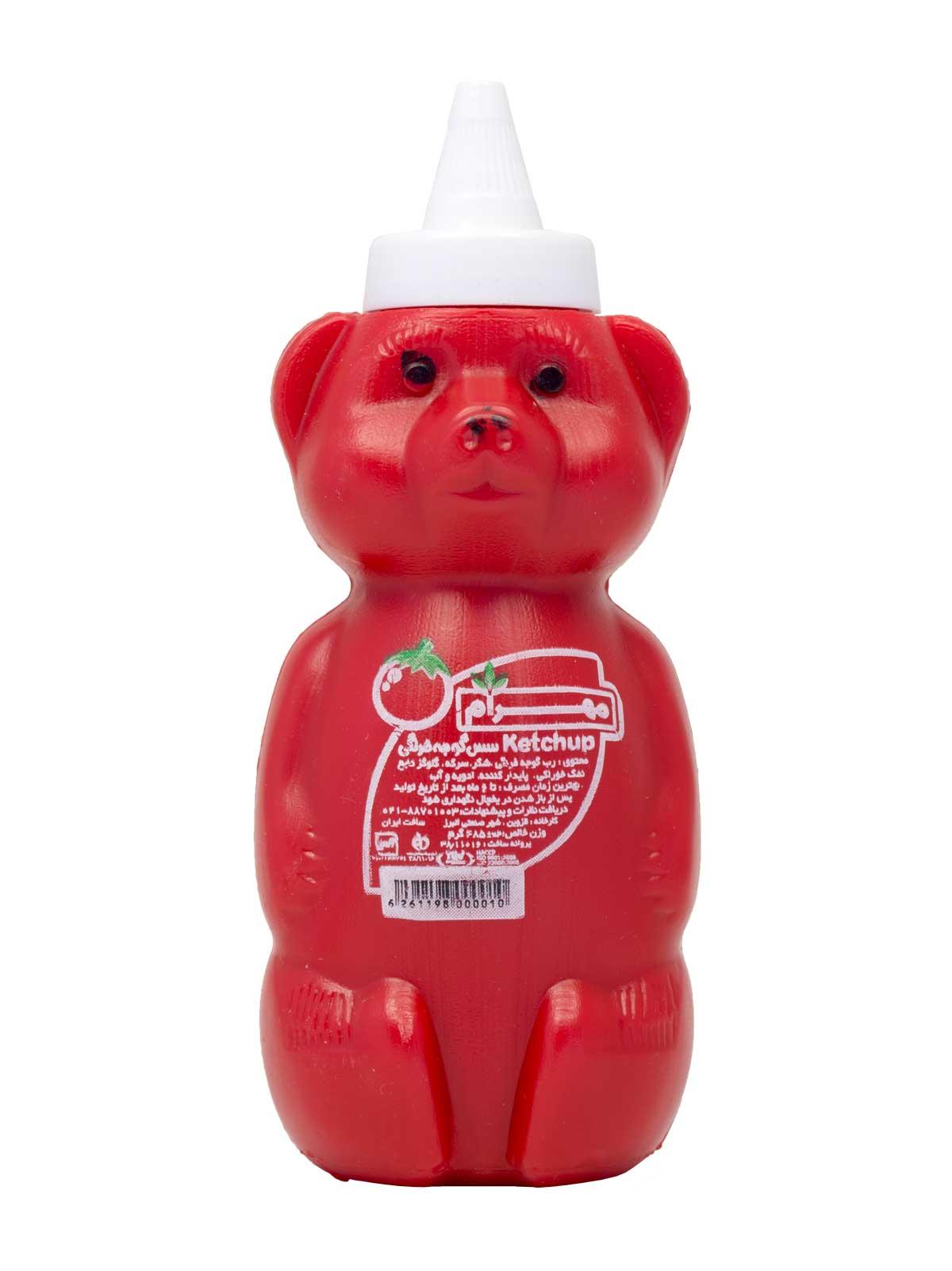 سس گوجه فرنگی مهرام خرسی 485 گرم