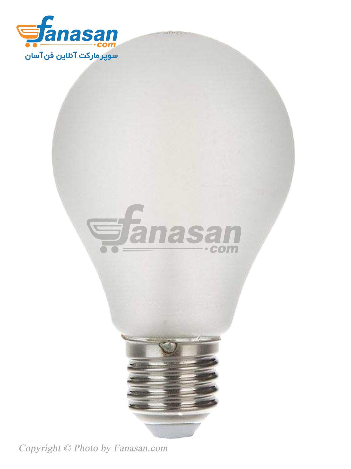 لامپ فیلامنتی مهتابی شعاع سرپیچ پایه E27 مات 12 وات